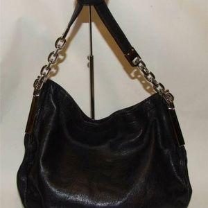 Michael Kors Julian Shoulder Bag Handbag Purse Blk